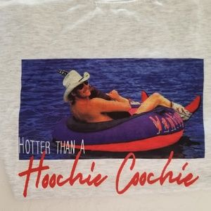 Tops - Hotter Than A Hoochie Coochie Tee Size Med